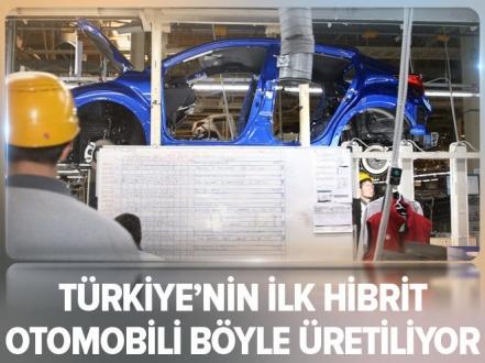 Türkiye'de üretilen ilk hibrit otomobil