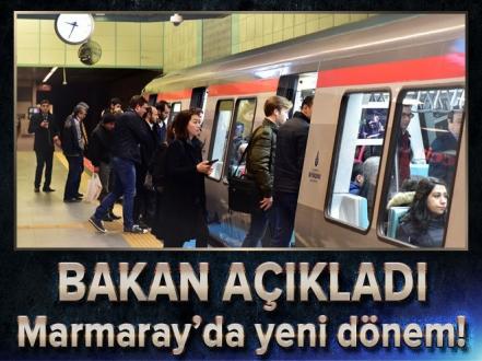 Ulaştırma Bakanı Ahmet Arslan: Marmaray'da...