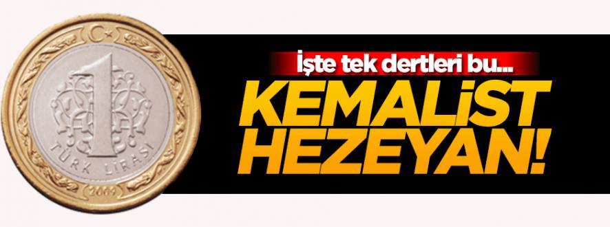 Kemalistlerin tek derdi bozuk paradaki 'Mustafa Kemal'